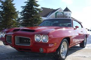 1972 GTO LEMANS   BEAUTIFUL LASER STRAIGHT BODY AND PAINT SOUNDS AWESOME!