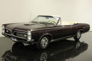 1967 Pontiac GTO Convertible Numbers Matching 400ci V8 Automatic Power Top PS