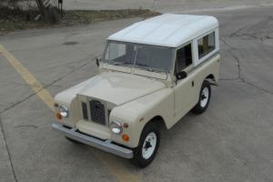 1969 LAND ROVER SERIES IIA, RESTORED, ONE FAMILY OWNED ATLANTA TRUCK, RUST-FREE