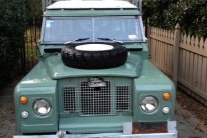 "1972 Land Rover Series 2A Station Wagon 109"" Safari Top Right Hand Drive!"