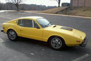 SAAB Sonnett III, 1974 sports car, rare vintage