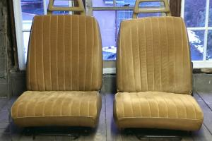 Front Bucket Seats of Volvo 240 Wagon