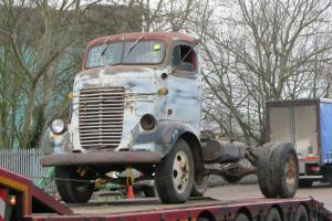 1947 Dodge COE MOPAR Truck - ideal hotrod pickup, completely original barn find Photo
