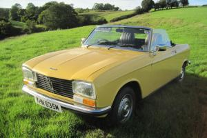 Peugeot 304 s Cabriolet RHD 1974. 60980 miles. Current Tax and MOT