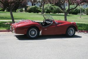 Triumph tr3A 1962