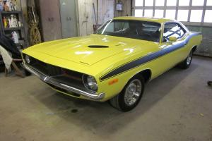 Plymouth : Barracuda Cuda 340