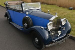 1937 Rolls Royce Phantom III All Weather Cabriolet by Hooper. Photo