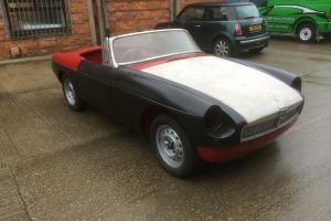 mgb roaster 1966 restoration project barn find