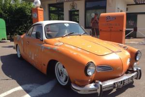 Karmann Ghia Coupe 1972 VW Volkswagen Slammed, Narrowed calander featured