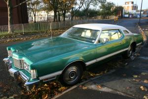 1976 FORD THUNDERBIRD CLASSIC AMERICAN CAR UK REGISTERED NO RESRVE AUCTION Photo