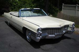 1965 Cadillac Convertible all original SURVIVOR great find!