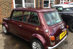1999 Rover Mini 40 in Mulberry Red
