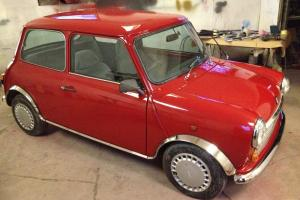 1989 AUSTIN MINI MAYFAIR AUTO RED RESTORED NO RESERVE