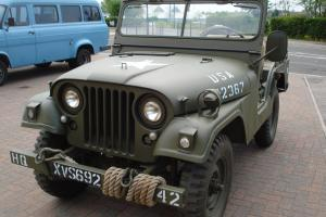 willys jeep 1955 not land rover Photo
