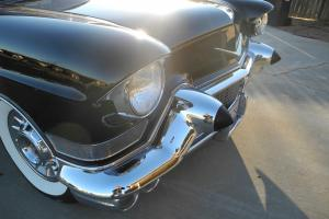 1957  Cadillac Coupe de Ville, black on black,  365 Cadillac motor,Jetaway trans Photo