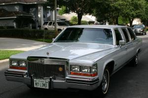 TWO OWNER ORIGINAL SURVIVOR -1980 Cadillac Deville Stretch Limousiine - 20K MI