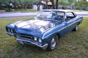 1967 BUICK SPECIAL 2-DOOR HARDTOP COUPE, ALL ORIGINAL FACTORY A/C, V8, 3 SPEED