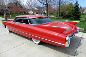 1960 Cadillac *Rare Flat Top Beauty!!! Immaculate body! 60,310 ORIGINAL MILES!!!