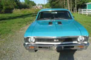 1969 Nova SS 396/375HP Big Block 4 Speed Super Sport Super Nice! No Reserve!