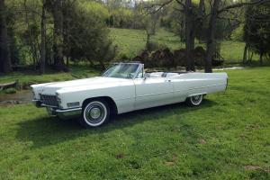 1968 Cadillac DeVille Base Convertible 2-Door 7.7L