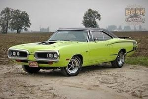 1970, 383, 4 speed, limelight green, super clean and sharp, runs excellent