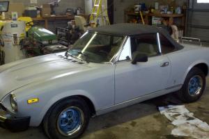 1979 Fiat 124 Spider Convertible 2-Door 2.0L