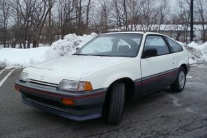 CR X CIVIC HATCHBACK RARE 5 SPEED MANUAL {LIKE DEL SOL INSIGHT CR Z } NO RESERVE