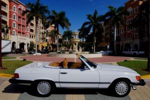1987 MERCEDES-BENZ 560SL**SUPER LOW MILES**FL