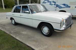 240D 3.0 Euro model W115 chassis