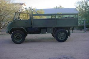 UNIMOG TROOP CARRIER  404  ''1963'' RUST FREE ,RUNNING AND COMPLETE