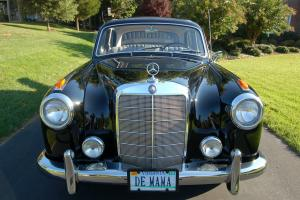 1958 Mercedes Benz 220S - Completely Restored with Webasco Cloth Roof