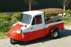 Diahatsu RARE Trimobile mini car truck Restored Custom fun 3 wheeler CLEAN!