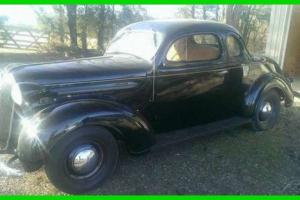1937 Plymouth Business Coupe Expertly Restored V6 Gasoline Manual Restored
