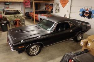 1970 Plymouth Barracuda Black on Black AAR CUDA TRIBUTE 340 4-Speed