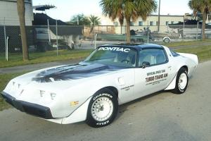 1980 PONTIAC TURBO TRANS AM PACE CAR , ROCK SOLID UNMOLESTED  FAVORABLE RESERVE