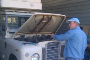 1978 Land Rover Series III 2.25 DIESEL 88 - Project