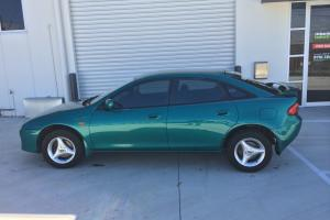 Mazda 323 Astina Shades 1996 5D Hatchback 5 SP Manual 2L Multi Point F INJ in Moorabbin, VIC