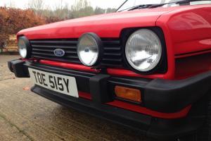 Mk1 Ford Fiesta XR2 in Sunburst Red, Nut & Bolt Restoration. 61k from new.