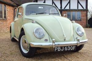 1967 VW Beetle 1500 - Fully restored beauty - Beryl Green - Leather interior