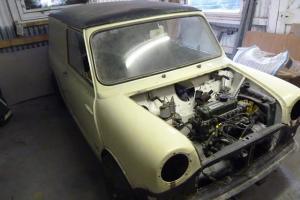 *** Classic Mini Morris Van, 1966, 1098cc, White ***