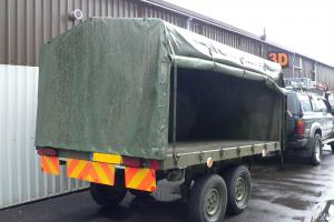 Multi Role Trailer MR35 Army All Terrain Dual Axel Multifunctional Heavy Duty
