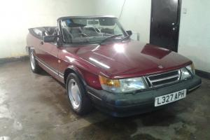 RARE SAAB 900i 16V CONVERTIBLE FROM CLASSIC CAR COLLECTION