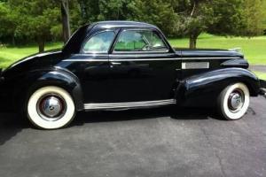 1939 La Salle Cadillac 2 door coupe original Cond  Black w/Gray Intereior