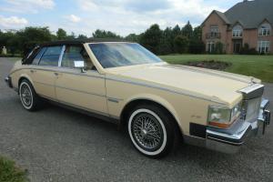1982 Cadillac Seville Elegante Sedan 4-Door 44K Original Miles(one owner)