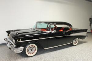 1957 CHEVROLET BEL AIR HARDTOP 283 POWERGLIDE RESTORED BEAUTIFUL