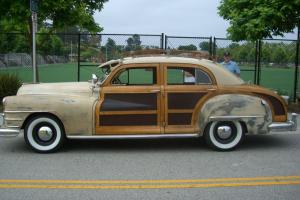 1948 CHRYSLER TOWN AND COUNTRY SEDAN--AMAZING ORIGINAL EXAMPLE--GREAT DRIVER