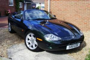 1998 JAGUAR XK8 SPORTS CONVERTIBLE BRITISH RACING GREEN