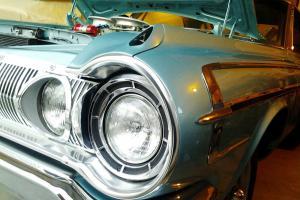 1964 HEMI Super Stock Dodge Polara 440, Push Button Auto, Sea Foam Turquoise
