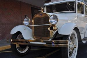 1928 Ford Model A....Loaded with 24K Gold