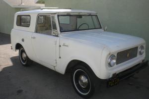 1963 scout two wheel drive